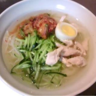 冷麺のスープ
