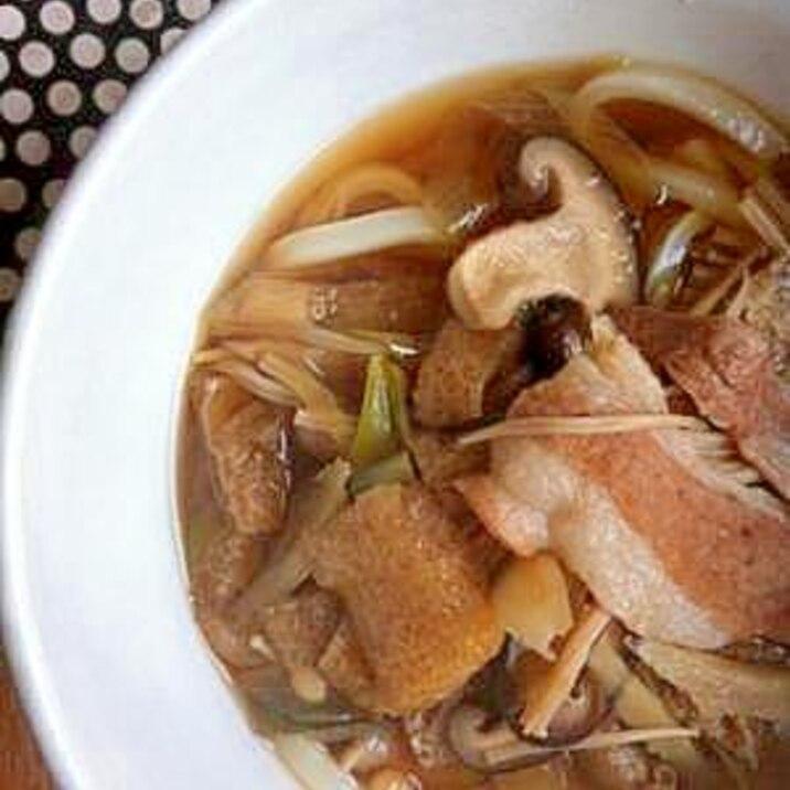 肉 うどん レシピ 豚肉