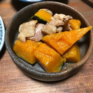 きのう何食べた?シロさん風 かぼちゃと鶏肉の煮物