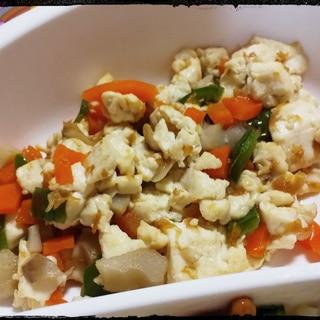 幼児食☆豆腐チャンプルー☆