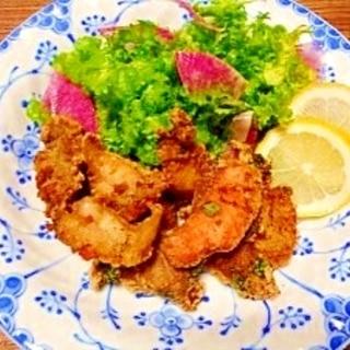 お刺身リメイク揚げ☆鮪・鯛・蛸・鮭