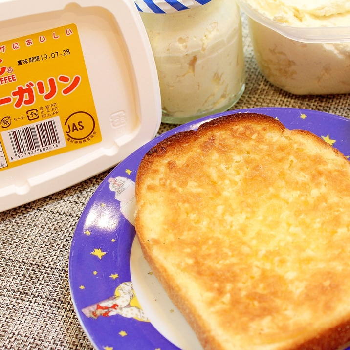 楽天市場商品で作る姫路名物アーモンドバタートースト