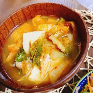 成城石井のチゲスープをアレンジ!具沢山スープ