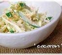 キャベツときゅうりの明太サラダ