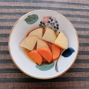さつま芋と人参の煮物