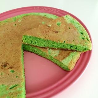 【野菜が摂れるおやつ♡】小松菜入り パンケーキ