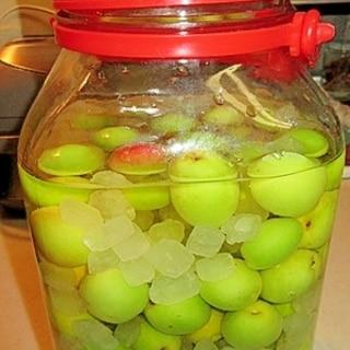 梅パワーに期待して♪リンゴ酢で梅サワー