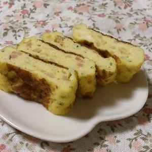 アミエビと紅生姜の卵焼き