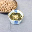 海苔のつけ汁蕎麦