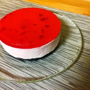 フルーチェで簡単ムースケーキ