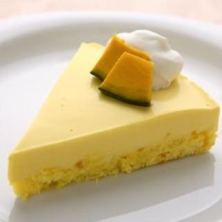 パンプキンレアチーズケーキ
