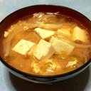 韓国風ピリ辛キムチスープ