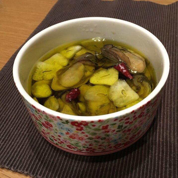 オイル レシピ 牡蠣 漬け