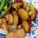 鶏肉とサツマイモの煮物