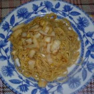 白菜漬物パスタ