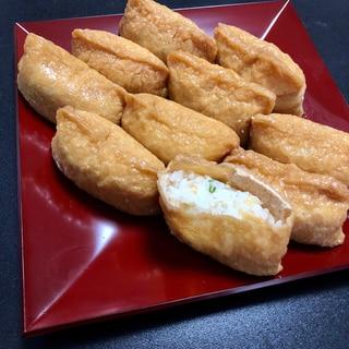 【市販品で簡単】奈良漬けとちりめん山椒のお稲荷さん