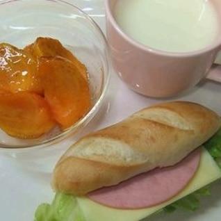 ハムチーズレタスサンドのワンプレート