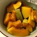レンジでかぼちゃの煮物