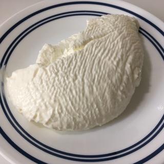 プレーンヨーグルトでクリームチーズ