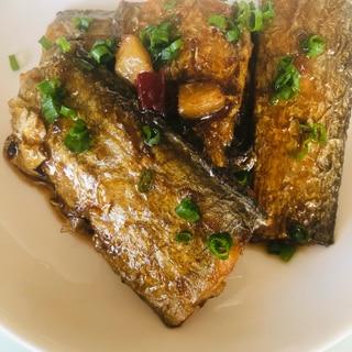 中華風 太刀魚の煮付け