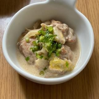 鶏肉と白菜と舞茸のクリーム煮