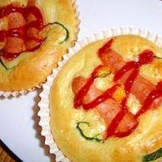 簡単総菜パン