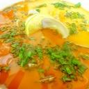 蛤の中華風茶碗蒸し