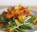 ゆずのさっぱりドレッシング☆野菜チップスサラダ