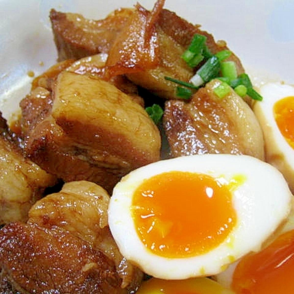 豚 バラ 角 煮 圧力 鍋