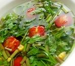 簡単5分❤野芹のエスニックスープ♪(三つ葉でも)