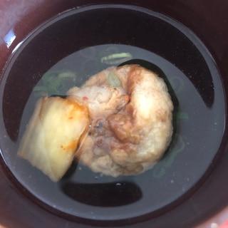明石焼風キムチたこ焼き
