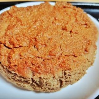 小麦粉なし!豆腐ときな粉の低糖質ケーキ