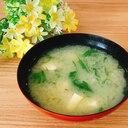 水菜の味噌汁✧˖°