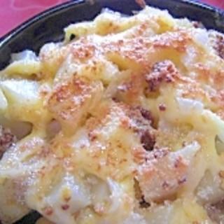 ポテトのマヨネーズ&チーズ焼き
