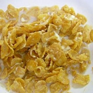 クリームチーズ&シナモン入り☆ コーンフレーク♪