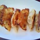 カニ&グリーンピース餃子