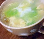 シャキシャキレタスのほっとスープ