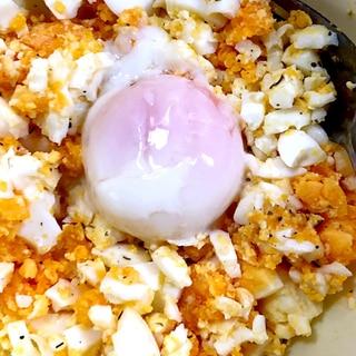 卵卵しいたまごサラダ ダイエット飯です