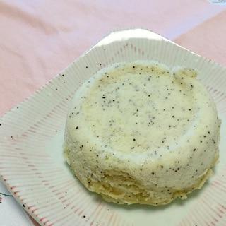 レンジで1分!ふわもちっ!米粉の蒸しパン