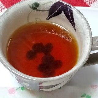ラム酒入りレーズンの紅茶~メイプルシロップで甘く♪
