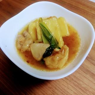 とろっと美味しい!高野豆腐と鶏肉の揚げ煮
