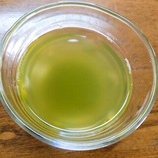 粉末緑茶ゼリー