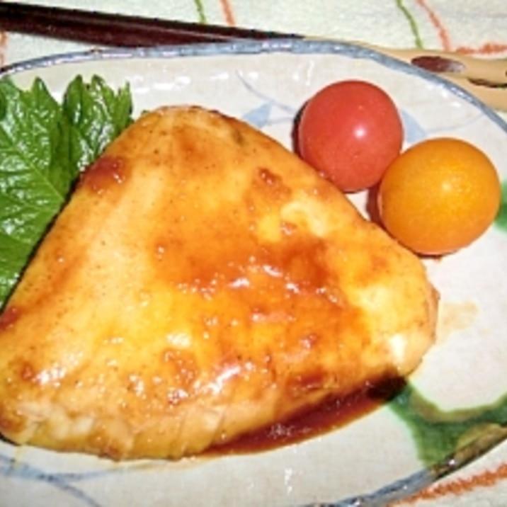 カジキマグロ ソテー