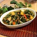 野菜たっぷり!豚肉と厚揚げの炒め煮