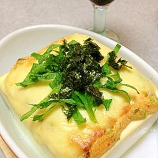 超簡単!明太マヨチーズ☆お豆腐の絶品おつまみ☆