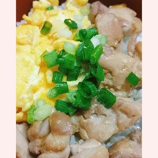 ♥簡単❣鶏もも肉の焼き鳥風丼♥