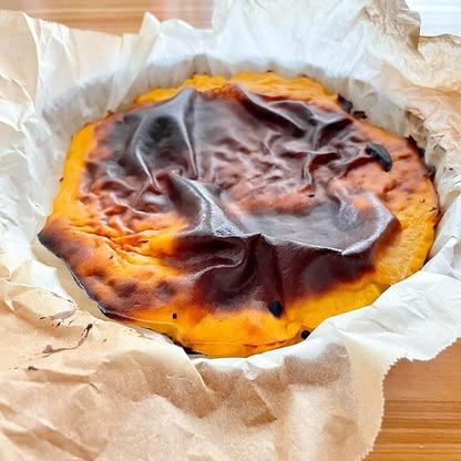 濃厚で美味しすぎるっ!かぼちゃのバスクチーズケーキ