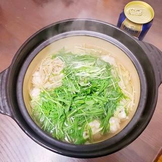 グレ(メジナ)のつみれ鍋\(^_^)/