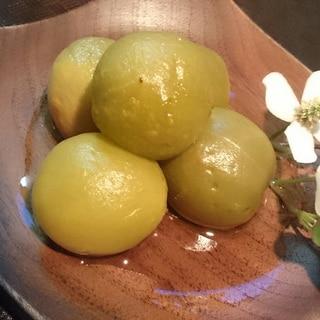 炊飯器で作る 青梅の甘露煮