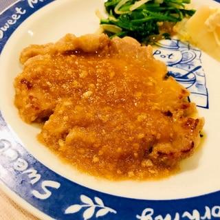 ★豚肉★すりおろし玉ねぎと塩麴でやわらかステーキ